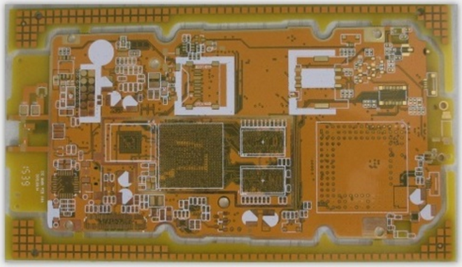 8 layers impedance PCB with vias in BGA pads