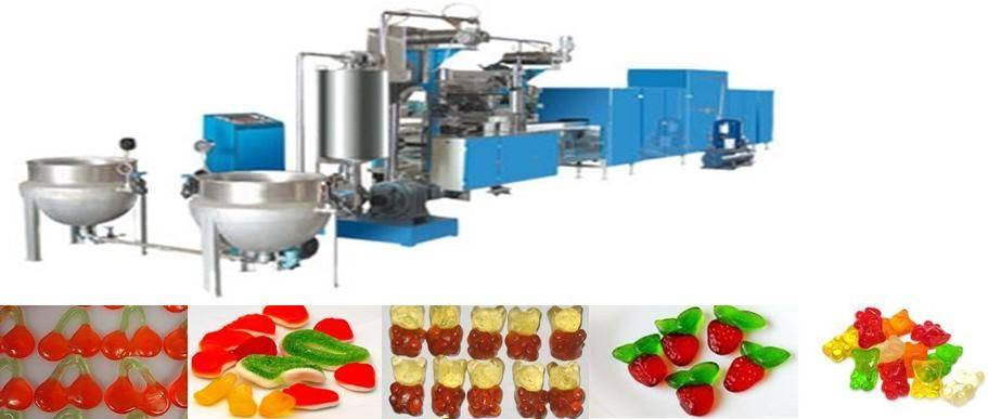 Jelly candy production line