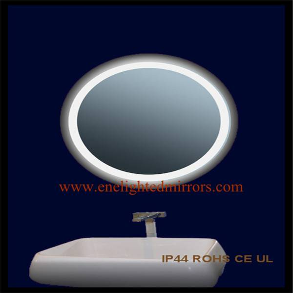Back-lit bathroom mirrors produced by ENE LIGHTED MIRRORS from China accepted custom oem odm