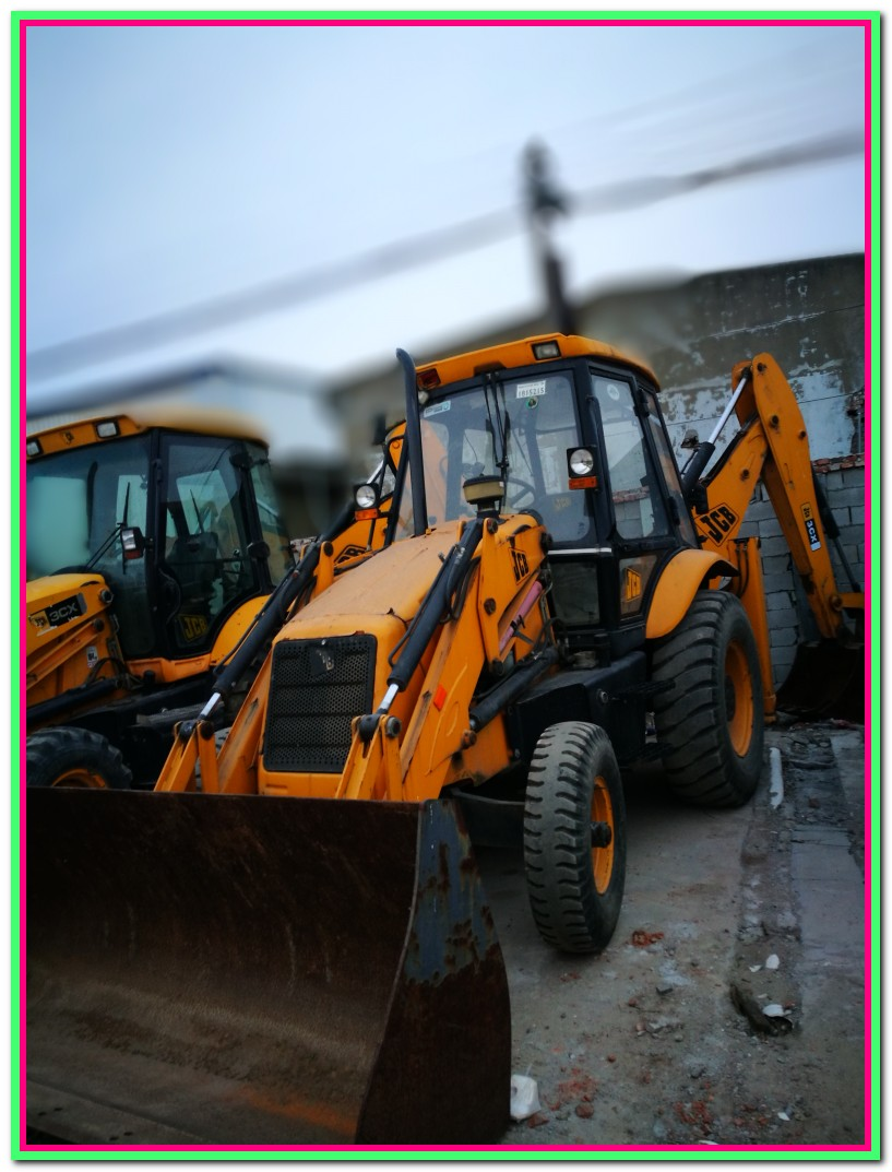 JCB wheel excavator 3CX japanese for sale