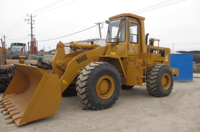 Used Loader    Secondhand Caterpillar Wheel 966E