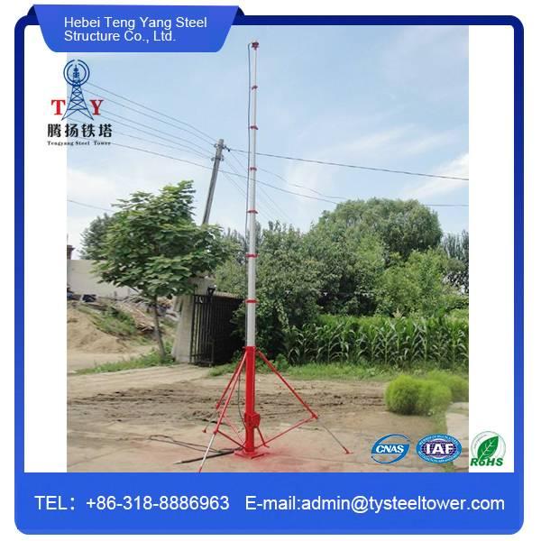 tubular steel tower