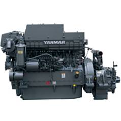 New Yanmar 6HA2M-WHT Marine Diesel Engine 350HP