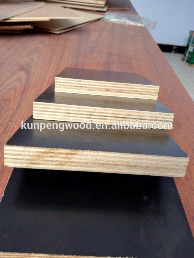 high quality 12mm black film faced plywood