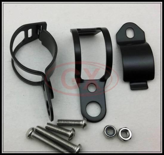 Motorcycle Universal Aluminum Turn Signal Light Bracket Streetbike Turn Light mounting bracket