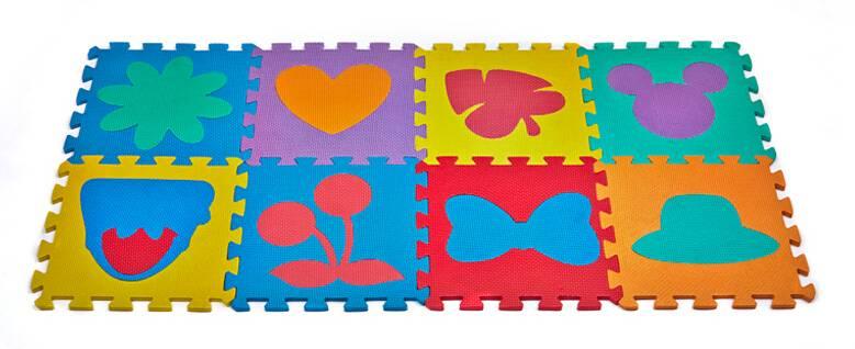 Yoga Gym EVA 3D Mats High Quality Children Room Wood Floor 3D Puzzles Mats Thick Squares Floor Puzzl