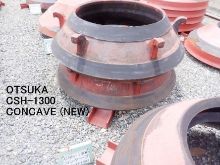 GENUINE PARTS OF NEW MANTLE AND NEW CONCAVE FOR OTSUKA CSH-1680 AND CSH-1300