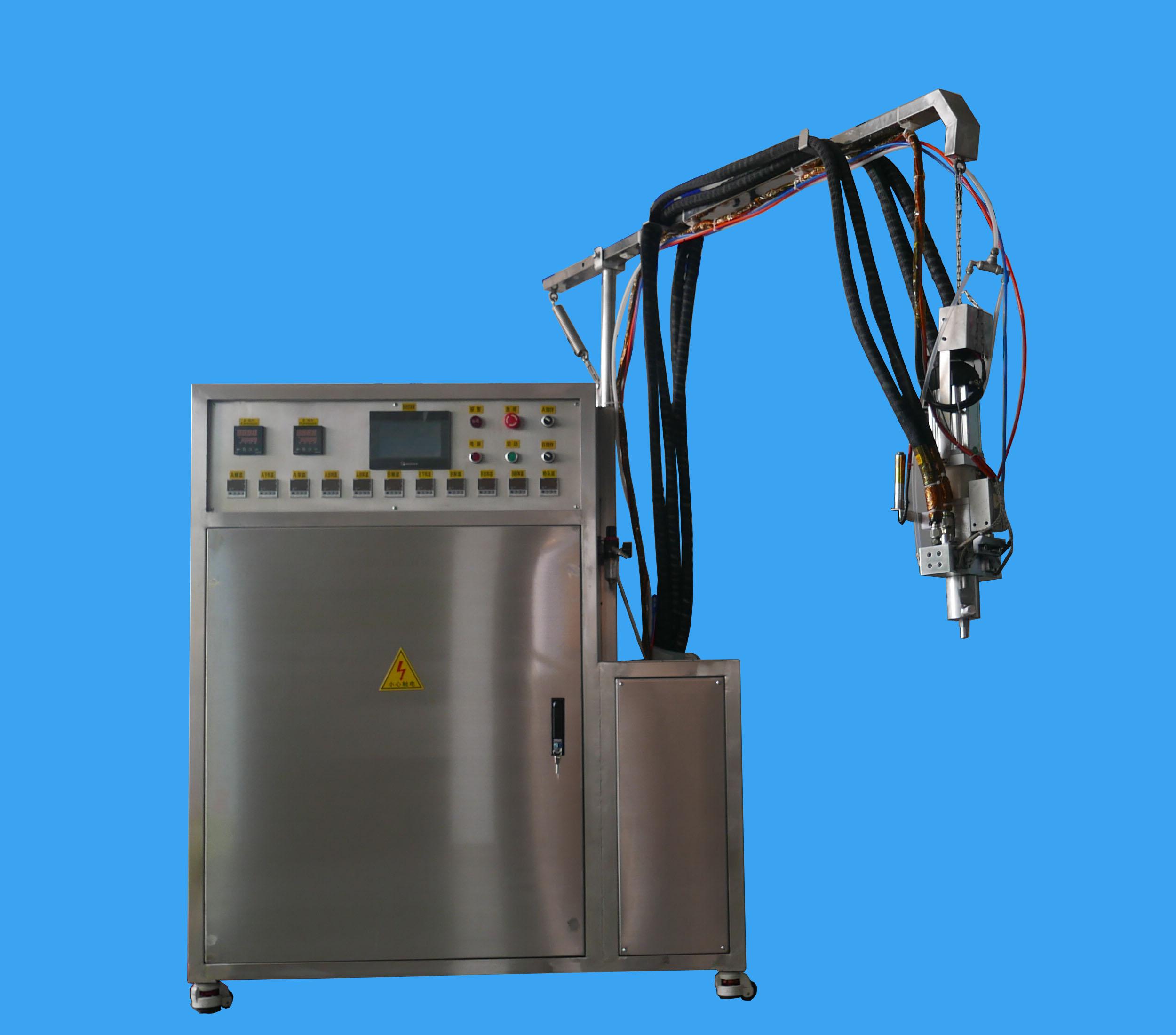 High temperature elastomer Polyurethane casting machine
