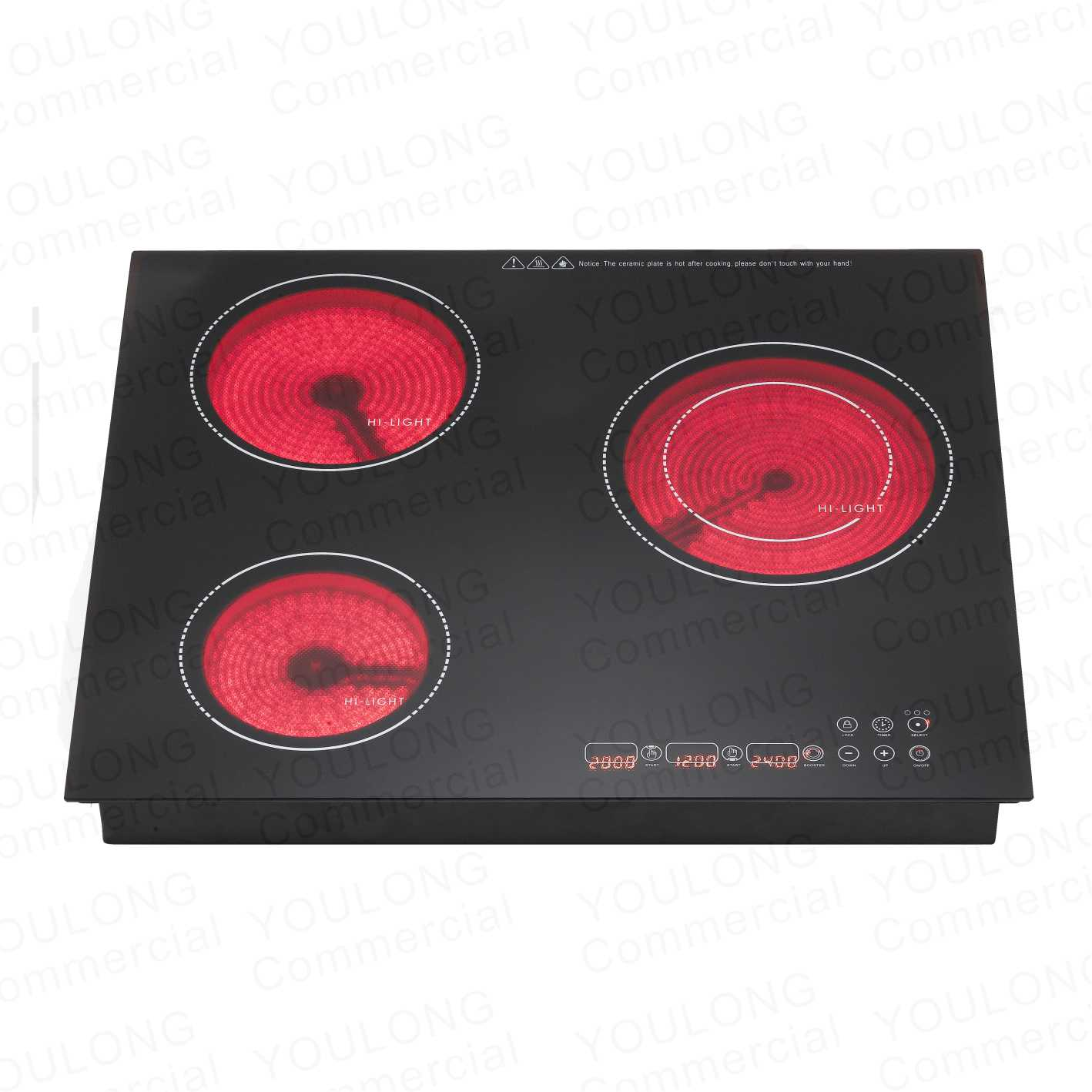 ceramic cooker DT-520 (3)Touch Control