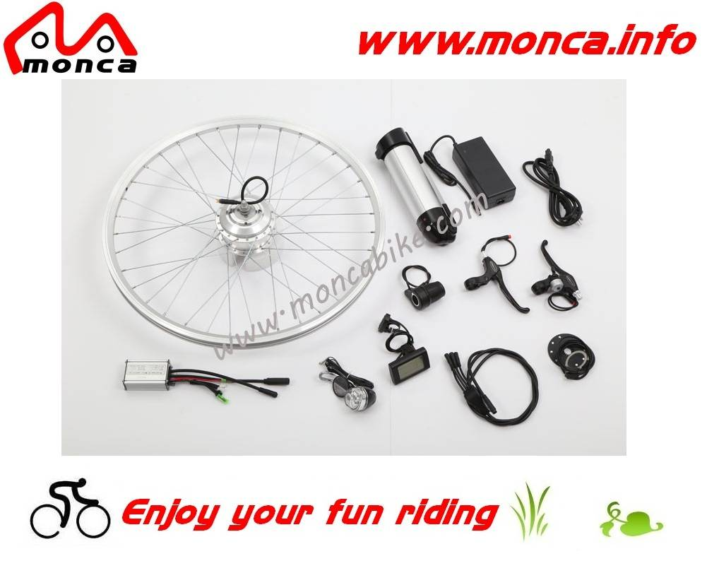 Electric Bike Kit with 250W Front Motor