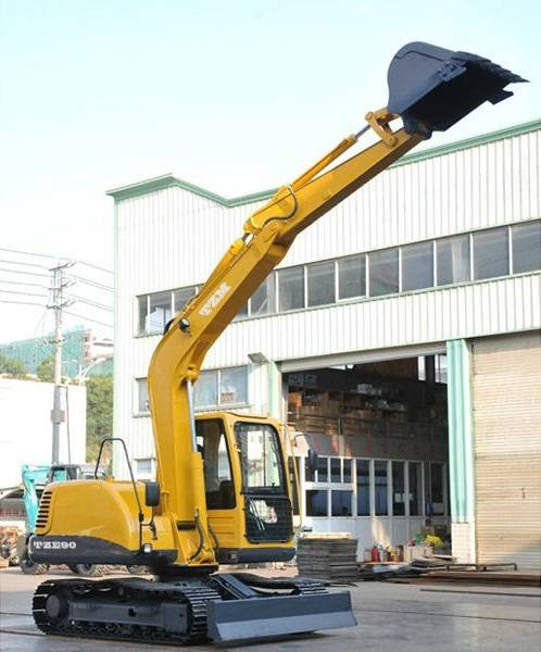 9 ton Small crawler excavator TZE90