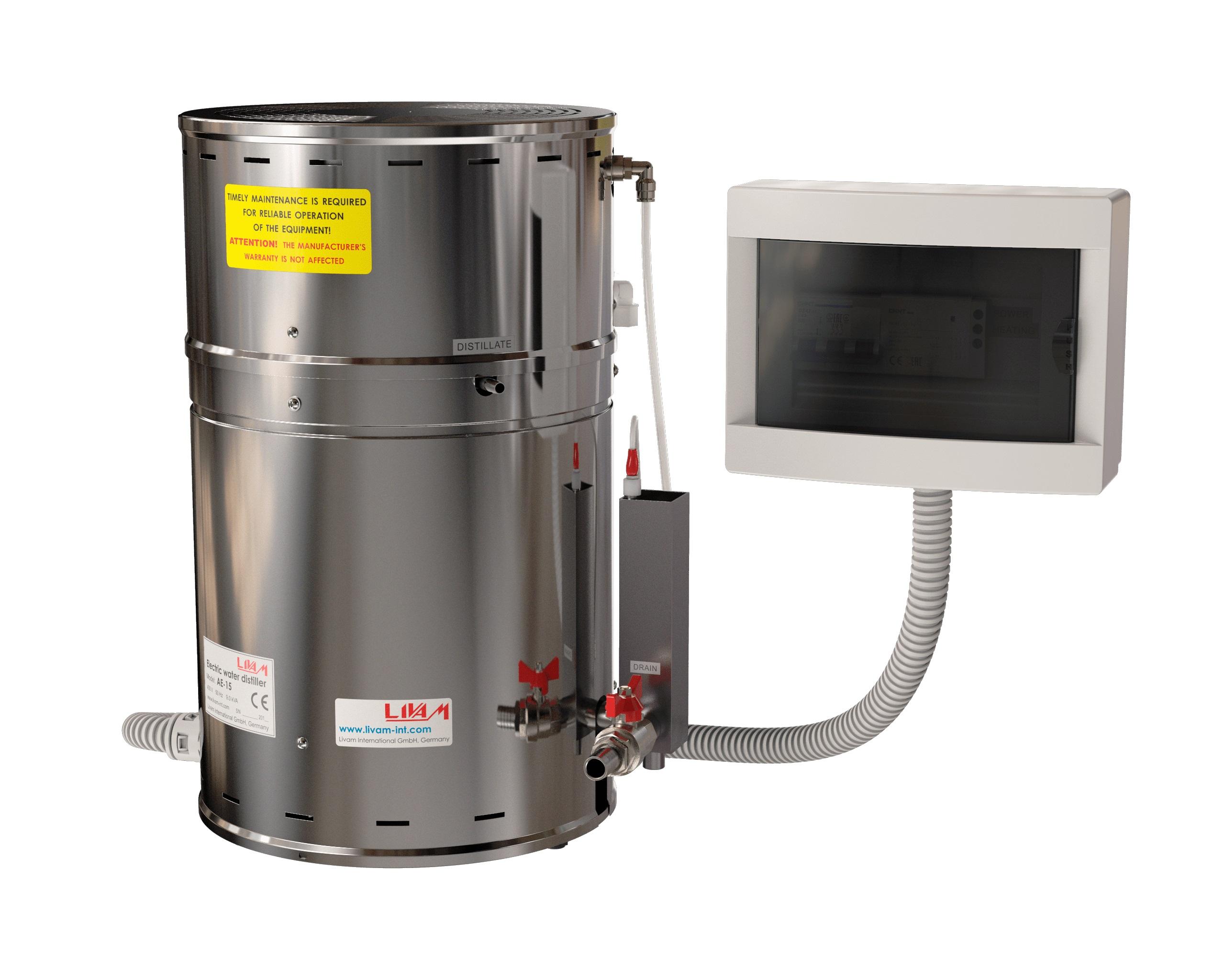 Livam AE-15 Water Distiller