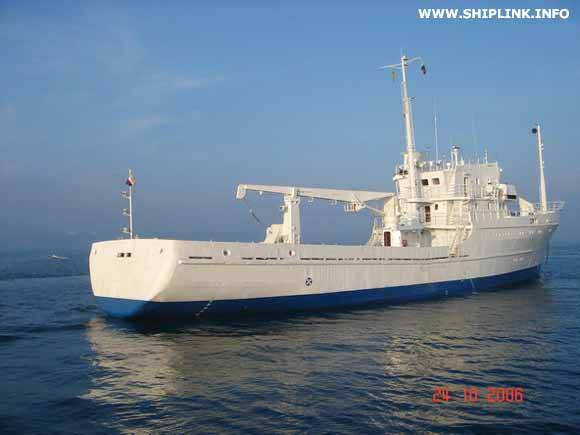 Research Vessel GT730 - for sale