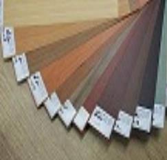 PVC matt wood decorative film / sheet