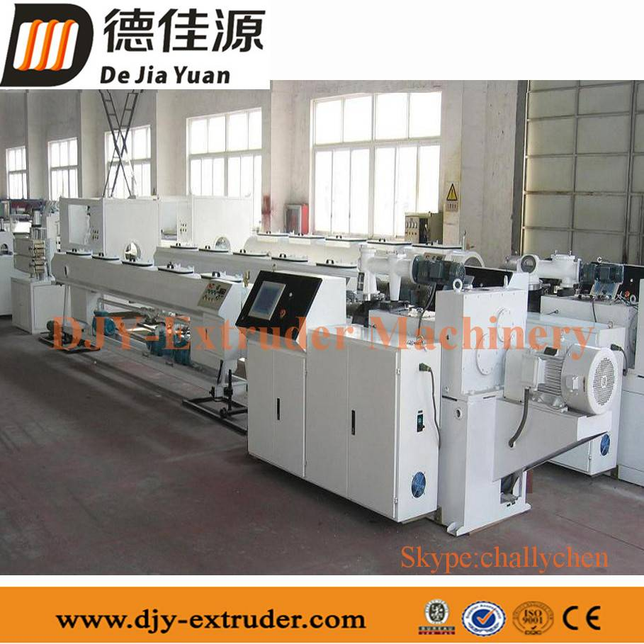 PE/PVC pipe extrusion production line