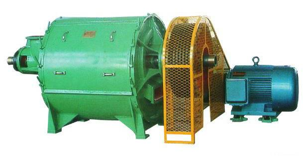 Centrifugal screen for pulp paper making plant