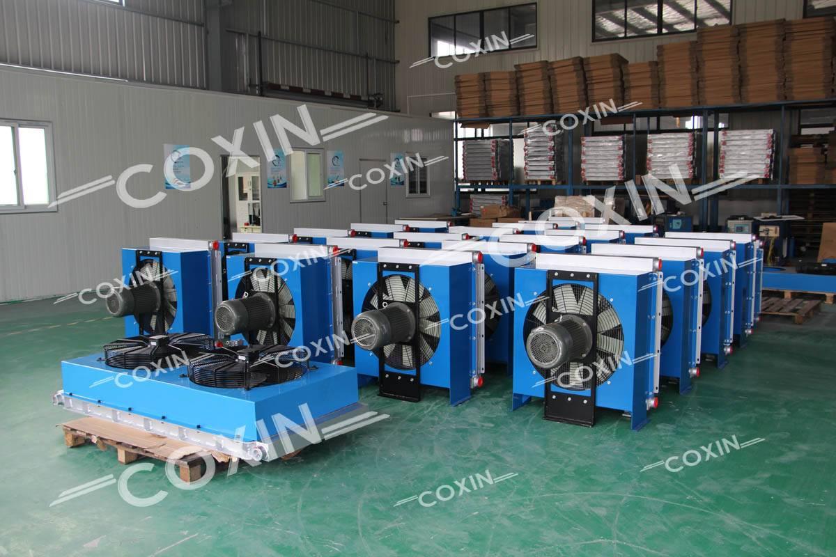 Air-cooled Oil Cooler/Air Oil Cooler/Hydraulic Oil Cooler/Plate-fin Heat Exchanger/Aluminum Fin Oil