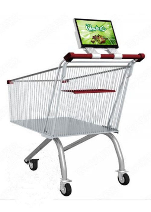 12.1 inch Supermarket Trolley LCD digital signage display