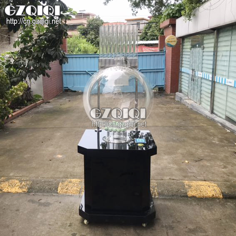 P600L Black Large chamber jet lottery bingo machine use for casino or auction