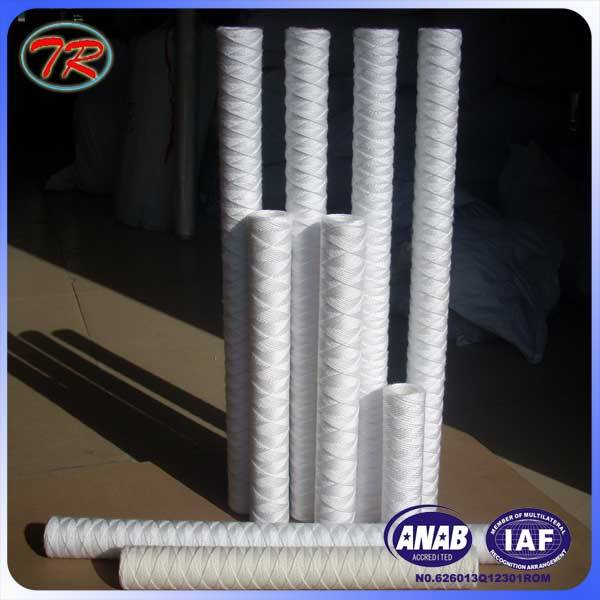 High efficiency 1 micron wire wound water filter cartridge