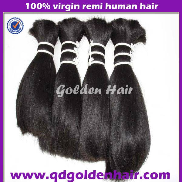 High Quality Best Sell Cheap Natural Color Peruvian Hair Bulk