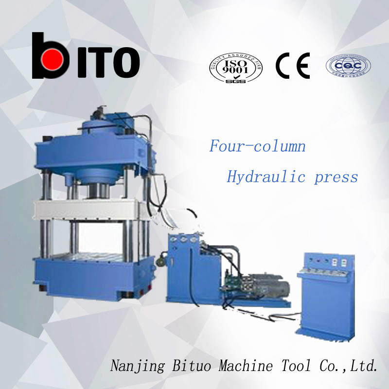 Y32 4-column hydraulic press