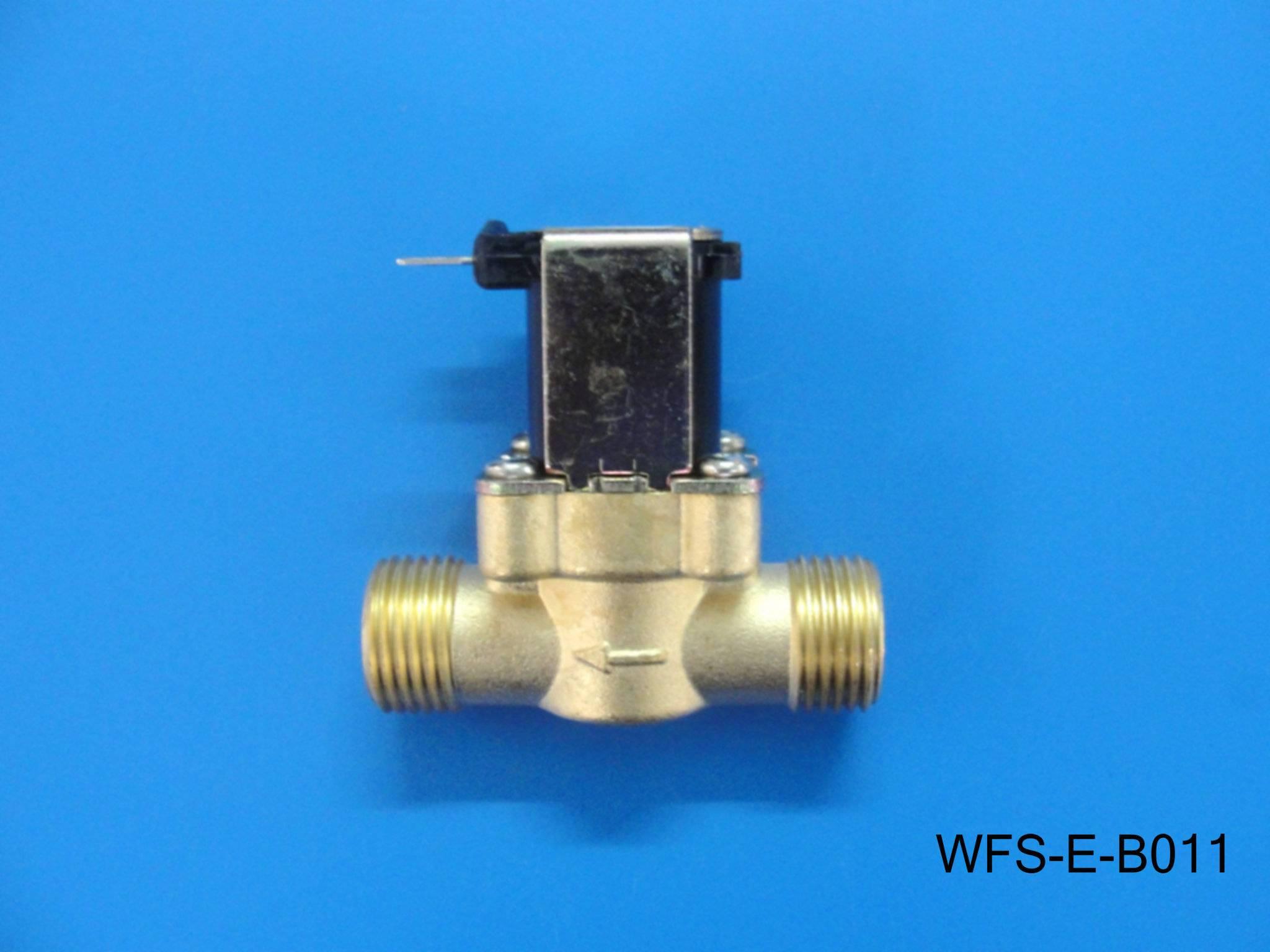 High temperature resistant all copper water flow sensor WFS-E-B011