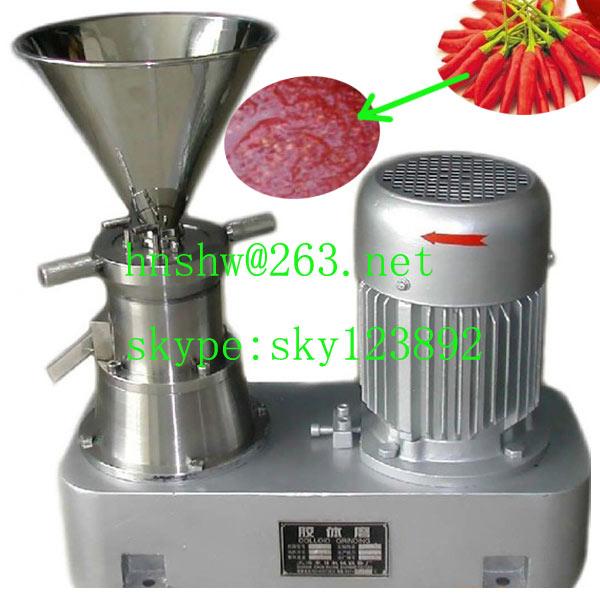 paste machine for sweet chili paste