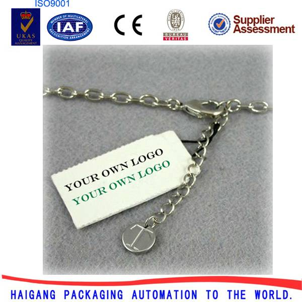 Jewelry Elastic String Tag