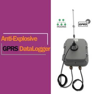 Battery Power Modbus GPRS Data Logger