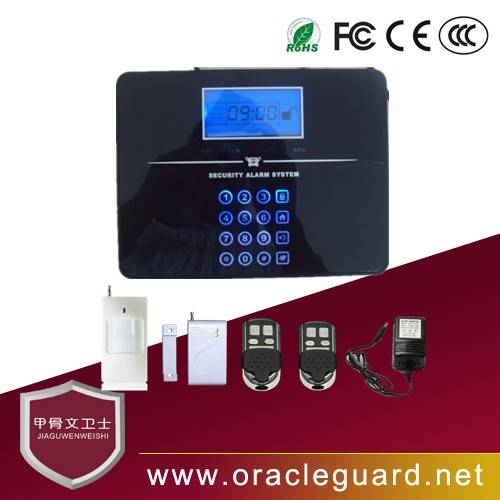 JGW-110T33 Burglar alarm system use phone cable to connect the interbet home or shop