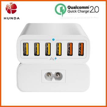 Qualcomm Quick Charge 2.0 USB Multiple Phone Charger for Samsung Galaxy s6 edge