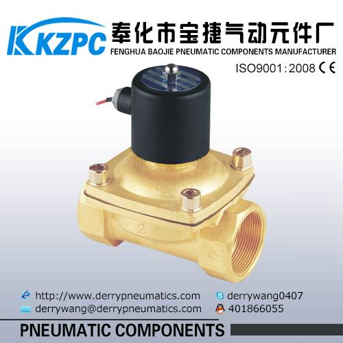 High quality 220v AC water solenoid valve