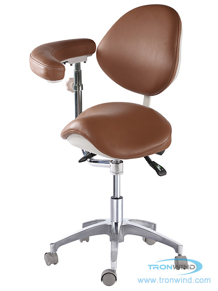 Saddle Chair TS08, Ergonomic Chair, Saddle with Armrest, Ophthalmic Chair, Blood Donor Chair