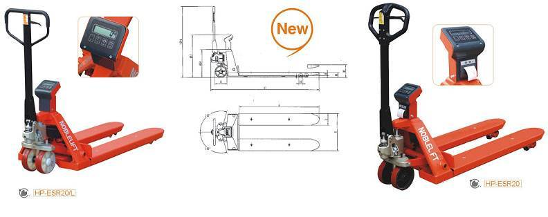 Pallet Truck With Scale HP-ESR20