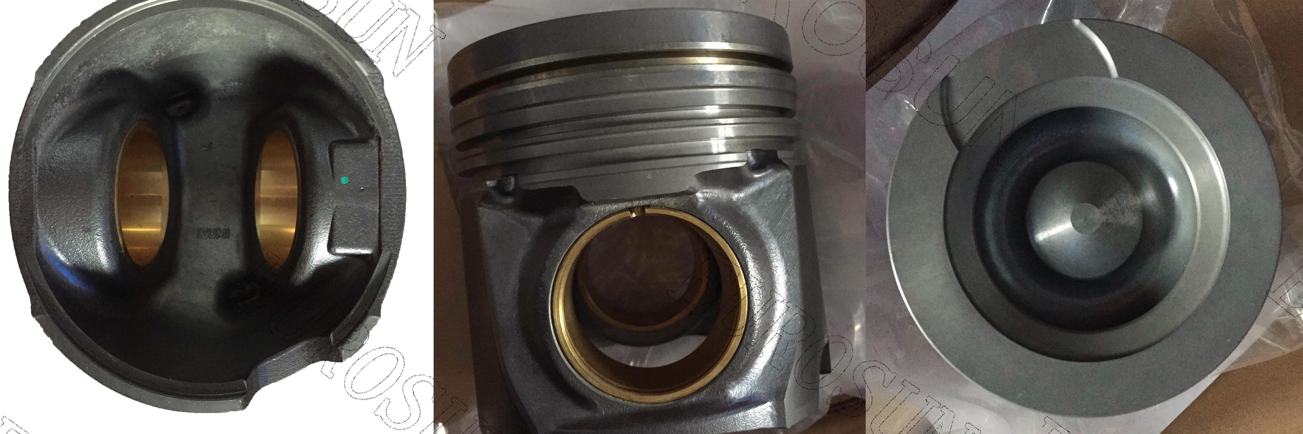Cummins engine piston 6CT with pin and clips