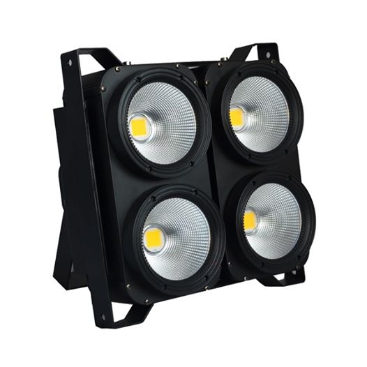 New 4 eyes led audience blinder light 4100w 2in1/4in1 COB led studio light