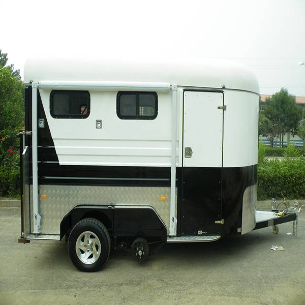 2 horse angle load trailer for sale