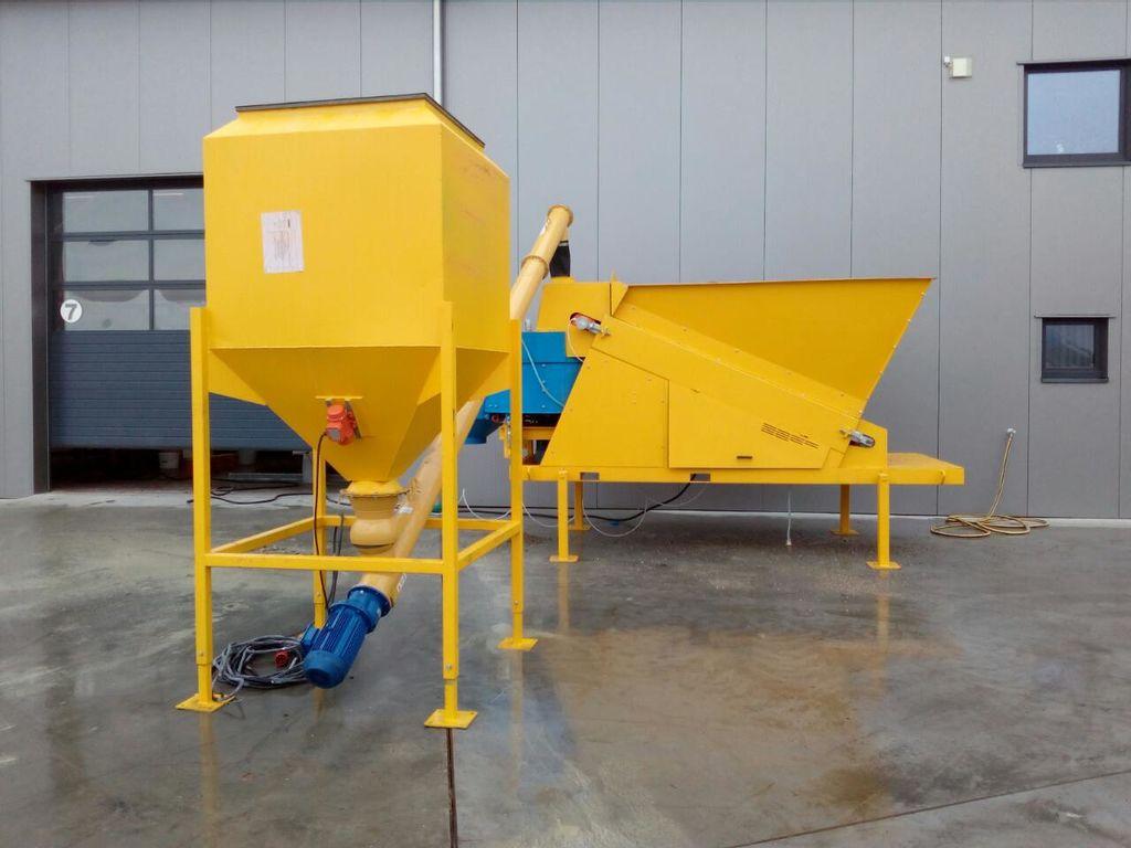 Fully Automatic Mini Model (9m3/h) Mobile Plant