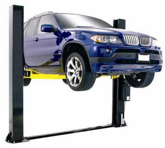 Two post floor-plate auto lift TPF709