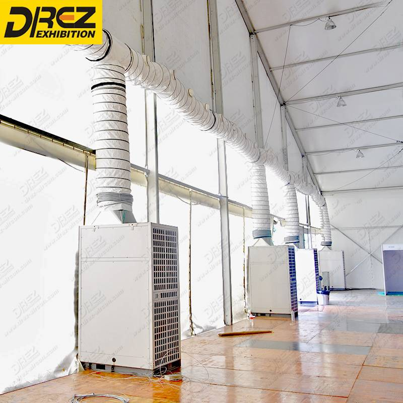 Drez 25hp Central Air Conditioner Eco-Friendly Air Conditioning Unit for Large Exhibition Tent