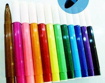Water based color pen, fibre pen