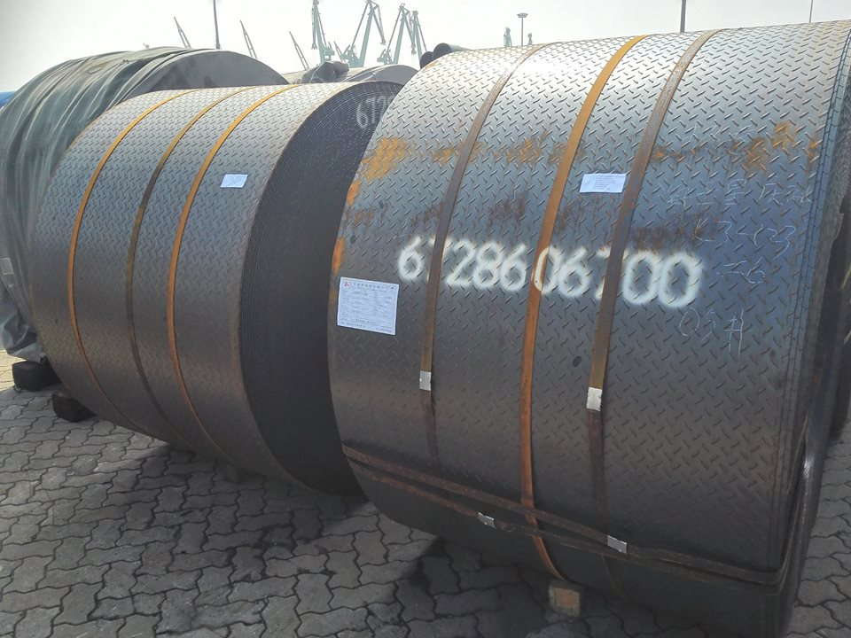 SS330 SS400 SS490 hot rolled steel coil
