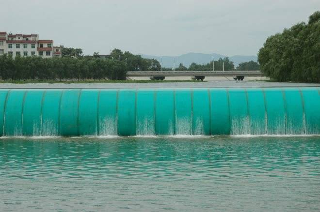 Water-fillled Rubber Gates