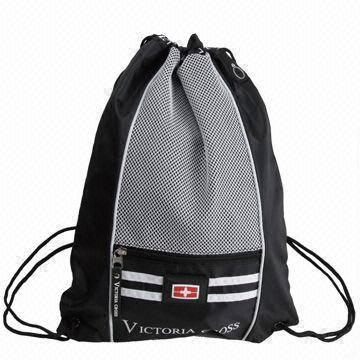 Cheap polyester drawstring bags,