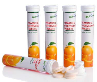 high content 1000mg vitamin c effervescent tablet