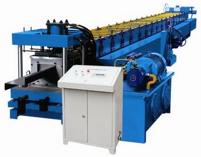 Steel C & Z Section Profile Shape Purlin Roll Forming Machine