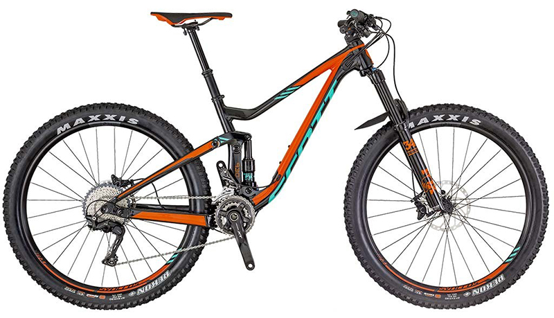 2018 Scott Genius 730 Mountain Bike