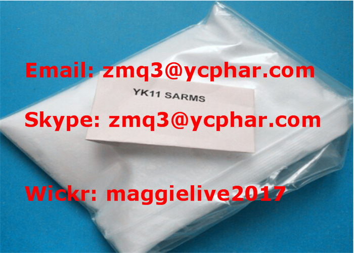 YK-11 Raw SARMs Powder YK11 CAS 431579-34-9 for Muscle Gains Supplement
