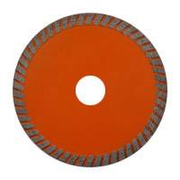 Hot-pressed mid turbo saw blade